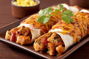 Cheesy Chicken Enchilada Dinner