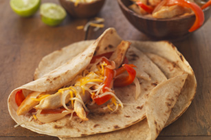 Cheesy Chicken Fajitas Image 1