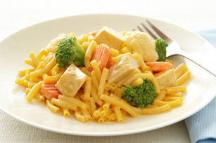 Cheesy Chicken & Veggie Mac