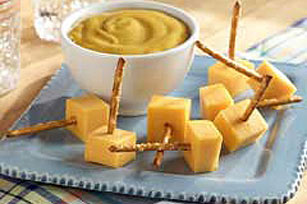 Cheesy Pretzel Dippers Image 1