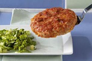 Cheesy Salsa Turkey Burgers Image 1