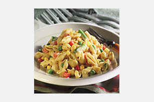 Cheesy Shells with Veggies Image 1