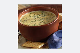 Cheesy Spinach Soup Image 1