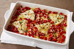 Pescado con queso y tomate al horno Image 1