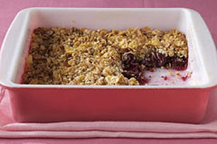 Cherry-Almond Crisp Recipe - Kraft Recipes