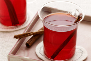 "Cherry Pomegranate Mulled ""Cider"""