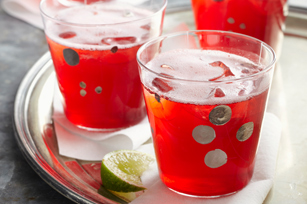 Cherry Pomegranate Spritzer