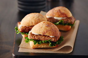 Chicken Caesar Sliders