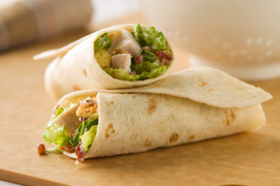 Chicken Caesar Wraps Recipe - Kraft Canada