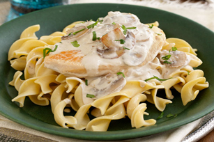 chicken with creamy mushroom sauce creamy chicken pasta bake baked ...