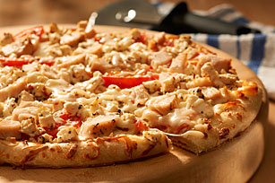 Chicken-Feta Pizza