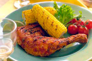 Chicken with Garden Salsa Image 1