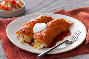 Chicken & Green Chile Enchiladas Image 1