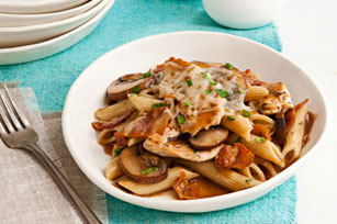 chicken-mushroom-penne-pasta-162229 Image 1