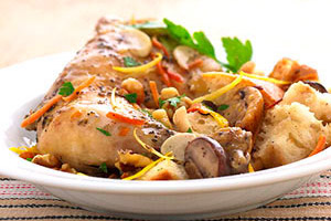 Chicken with Mushroom Stuffing Image 1