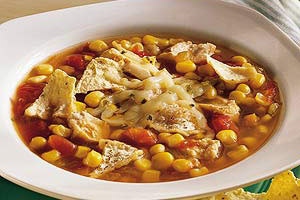 Chicken and Salsa Soup Image 1