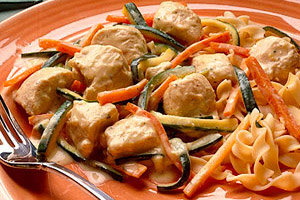 Chicken and Zucchini in Mustard Sauce Image 1