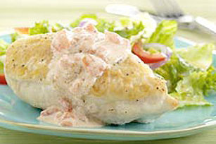 Chicken Breasts in Sour Cream Sauce