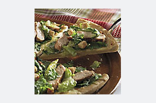 Chicken Caesar Salad Pizza Image 1