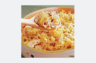 Chicken Chipotle Noodle Casserole