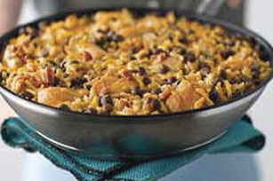 Chicken and Pigeon Peas Skillet Dinner Image 1