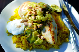 Chicken in Cilantro-Peanut Sauce Image 1