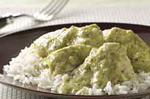 Chicken in Tomatillo Sauce