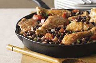 Chicken with Black Beans & Ham Image 1