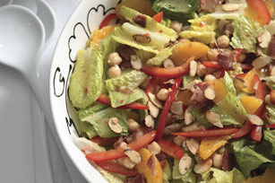 Chickpea Salad with Spiced Almonds Image 1