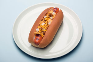 Chili-Corn Chip Dog Image 1