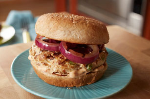 Chipotle-Turkey Burgers