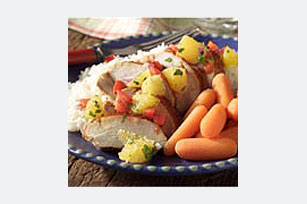 Chipotle Pork Tenderloin with Orange Salsa Image 1