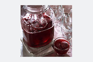 Ponche de frambuesa y arándanos rojos Image 1