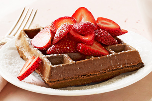 Chocolate Belgian Waffles