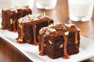 Chocolate-Caramel Brownies