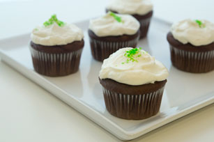 Chocolate-Mint Cupcakes Image 1