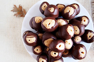 Chocolate Peanut Butter Balls Recipe Image 1