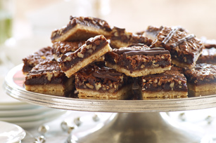 Chocolate-Pecan Bars Image 1
