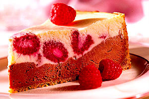 Chocolate-Raspberry Cheesecake Image 1