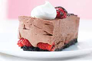 Chocolate-Raspberry Mousse Cake Image 1