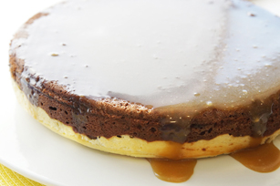 Chocolate-Sticky Toffee Pudding Cheesecake Image 1