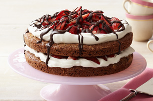 Chocolate-Strawberry Shortcake