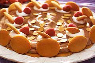 Chocolate-Toasted Almond Mousse Torte Image 1