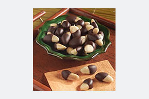 Chocolate-Dipped Brazil Nuts Image 1