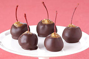 Chocolate Christmas Cherries Image 1