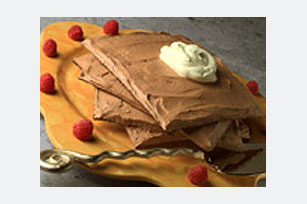 Chocolate-Filled Matzo Stack Image 1