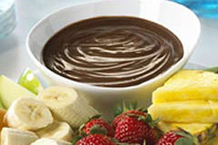 Chocolate-Peanut Butter Fondue Image 1