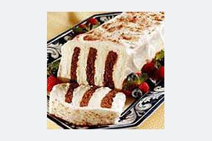 Chocolate Graham Refrigerator Cake Image 1