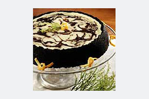 Chocolate-Orange Marble Cheesecake Image 1