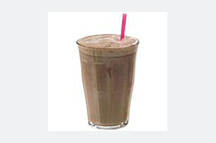 Chocolate, Peanut Butter & Banana Milk Shake Image 1